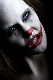 Furchtsamer Clown Stockfotos