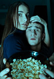 Furchtsamer Film Stockbild