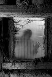 Furchtsamer Halloween-Hintergrund Stockfotos
