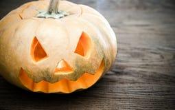 Furchtsamer Halloween-Kürbis Stockbilder