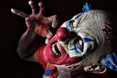 Furchtsamer schlechter Clown Lizenzfreie Stockfotografie