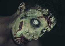 Furchtsamer Zombie stockbild