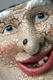 Furchtsames Gesicht mit Mole Stockfotos