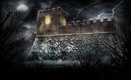 Furchtsames Schloss Stockfotografie