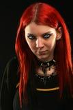 Furchtsames Vampirsmädchen Stockbilder