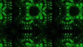 Furchtsames Zombiegesichtsmuster auf schwarzem Hintergrund lizenzfreies stockfoto