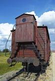 Furgon w Auswitch Fotografia Stock