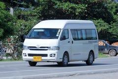 Furgone del pendolare di Toyota del giro di Amport Fotografia Stock
