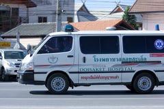 Furgone dell'ambulanza Fotografie Stock