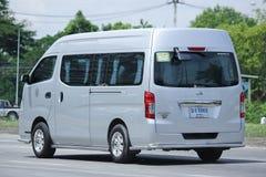 Furgone dello scuolabus dell'università di Maejo Nissan Urvan Immagine Stock Libera da Diritti