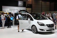 Furgone di Opel Meriva agli AMI Lipsia, Germania Immagini Stock