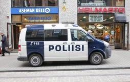 Furgone di polizia Fotografia Stock Libera da Diritti