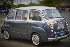 Furgoneta de 750 Fiat Fotos de archivo libres de regalías