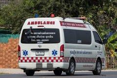 Furgoneta de la ambulancia del Subdistrict de Sansai Luang Fotos de archivo