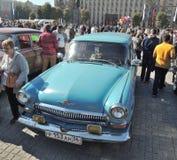 Furgoneta Volga GAZ-21 Imágenes de archivo libres de regalías