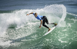 2015 furgonetas los E.E.U.U. se abren de la competencia que practica surf Foto de archivo libre de regalías