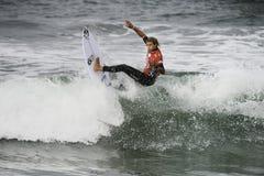 2015 furgonetas los E.E.U.U. se abren de la competencia que practica surf Imagenes de archivo