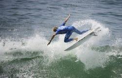 2015 furgonetas los E.E.U.U. se abren de la competencia que practica surf Imagen de archivo