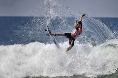 2015 furgonetas los E.E.U.U. se abren de la competencia que practica surf Fotos de archivo libres de regalías