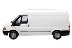 furgonetki boczny white Zdjęcie Royalty Free