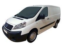 furgonetki transportowego white zdjęcie royalty free