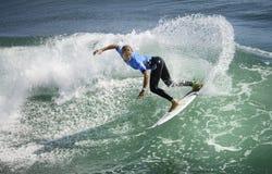 2015 furgoni Stati Uniti si aprono di concorrenza praticante il surfing Fotografia Stock Libera da Diritti