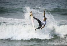 2015 furgoni Stati Uniti si aprono di concorrenza praticante il surfing Immagini Stock