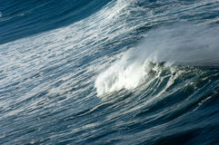 Furia del océano fotos de archivo