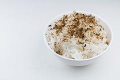 Furikake Katsuo на рисе, японской приправе Стоковые Изображения