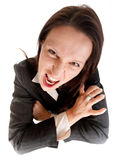 Furious business woman Stock Photos