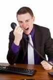 Furious businessman Stock Photos