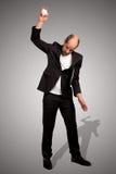 Furious businessman royalty free stock image