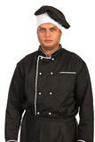 Furious chef male Stock Photos