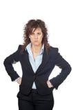 Furious female architect Stock Photos