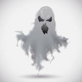 Furious Ghost Floating, Vector Illustration Royalty Free Stock Images