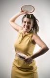Furious housewife Stock Photo