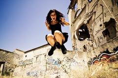 furious jumping Στοκ Φωτογραφίες
