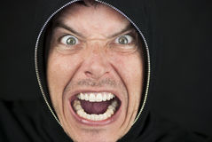 Furious Man Looks To Camera Stock Image