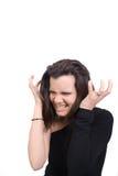 Furious Woman Stock Image