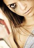 Furious woman Stock Photos