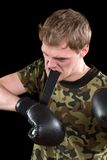 Furious young man Royalty Free Stock Photography