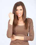 Furious young woman Royalty Free Stock Images