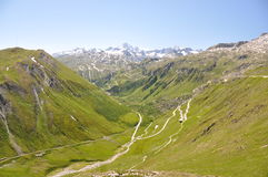 Furka pass, Switzerland Stock Photography