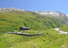 Furka pass, Switzerland Stock Photo