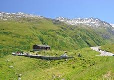 Furka pass, Switzerland Stock Photo