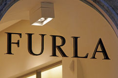 Furla fashion store stock photo