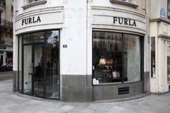 Furla fashion store Stock Photography