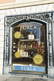 Furla shop in Rome, Italy Royalty Free Stock Photo