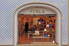 Furla store in Vienna city, Austria Stock Photo