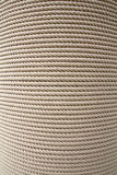 Furled rope. Rope furled on a big cylinder Stock Images